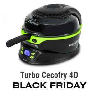 Freidora sin aceite Turbo Cecofry 4D de Cecotec - BLACK FRIDAY Amazon 2019