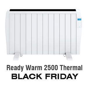 Radiador electrico Ready Warm 2500 Thermal de Cecotec - BLACK FRIDAY Amazon 2019